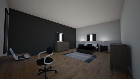 Modern designed room - Modern - Bedroom  - by Lennox_Galvan