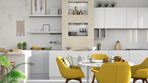 Here Comes the Sun - Modern - Kitchen - by millerfam