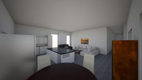 Kitchen w existing ext  - Kitchen - by Pascale55