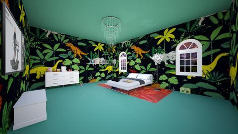 Dinotopia - Bedroom  - by Grat_rat
