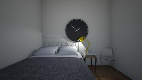 Minimalist bedroom - Minimal - Bedroom - by melelema