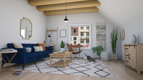 amsterdam flat - Living room  - by elia07