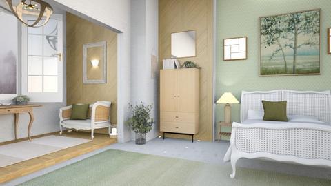 Sage goodness - Bedroom  - by hmm22