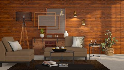 M_ Melrose - Living room  - by milyca8