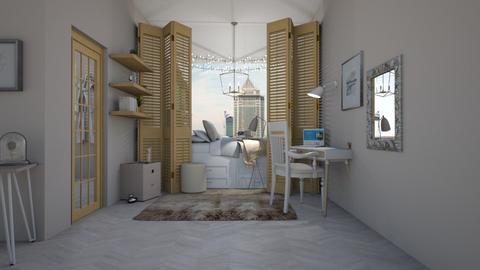 Doodle Bug - Modern - Bedroom  - by matildabeast