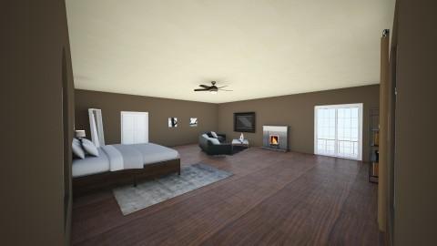 El Dormitorio - Bedroom - by millsalyssa