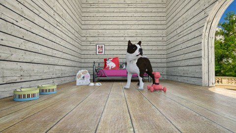 dog house - Garden - by Alixandria Wolff