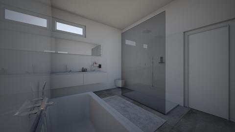 Badkamer 4 - Bathroom  - by astriddemeure