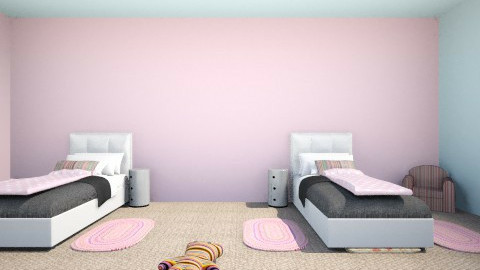 Young Girl Drea Room - Classic - Kids room  - by Amelia Lower