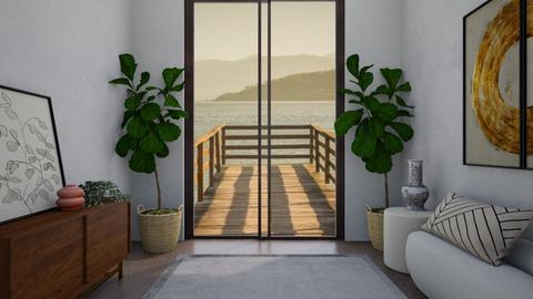 modern hallway - Modern - by aestheticXdesigns