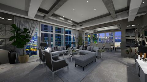 Lux living area - Living room - by Elite1
