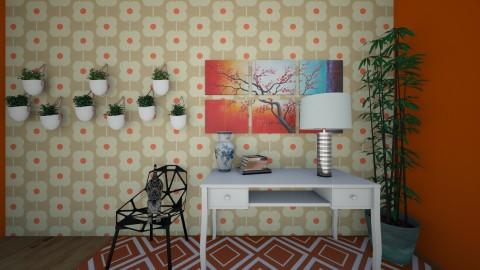 Modern Floral - Modern - Kids room - by Snowella11