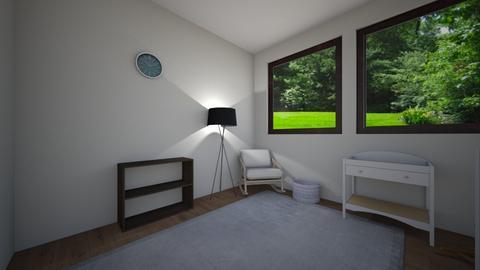 baby nursery - Bedroom - by azzieflowers