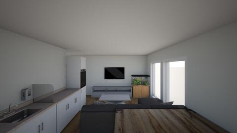 obyvacka akv napravo - Living room  - by lukasbuk