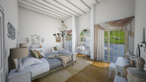 Manior Francais - Glamour - Bedroom - by megalia42