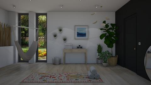Yoga studio - by Annathea