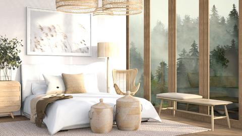 Natural - Modern - Bedroom  - by millerfam