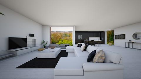 Moderne living - Modern - Living room  - by FDM
