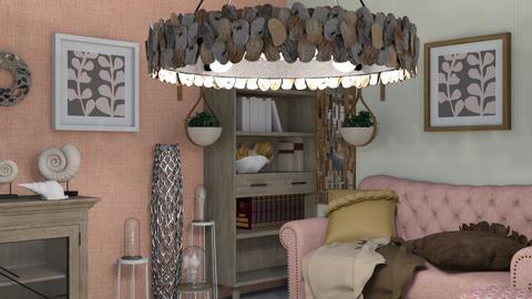 shell - Living room  - by Karen Priest