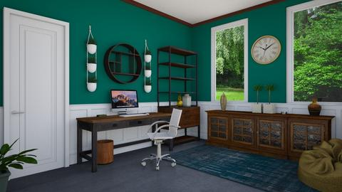 Spring Home Office - Modern - Office  - by Miriam151