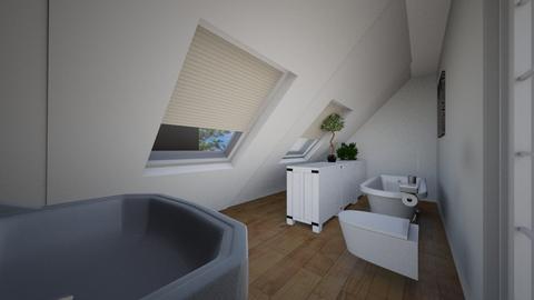 Prawidlowe wymiary - Living room  - by gabrielasiemiaszko
