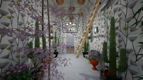 jungle hallway - Modern - by raameen_room_plan