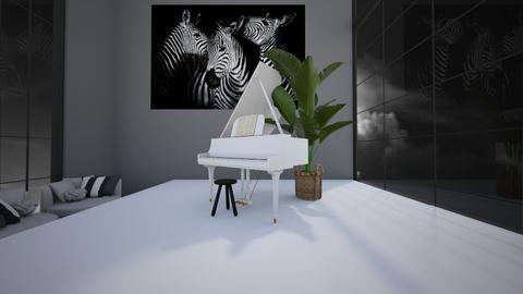 _s t o r m y_3_ - Modern - Living room  - by Marlisa Jansen