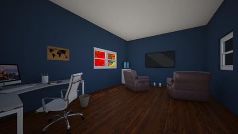 Man Room - Country - Living room  - by Skwood