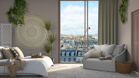 Beige - Bedroom  - by Victoria_happy2021