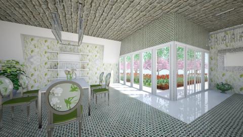 PistaCio - Vintage - Dining room  - by Saj Trinaest