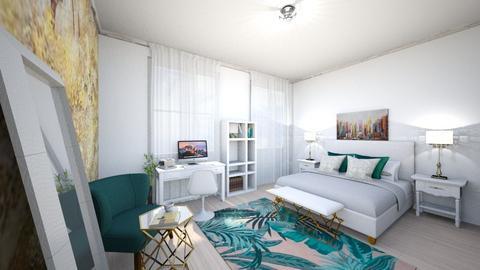 Bedroom 1 - Modern - Bedroom  - by teobratu