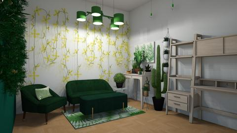 Urban Jungle Living - Living room  - by Roomstyler101102