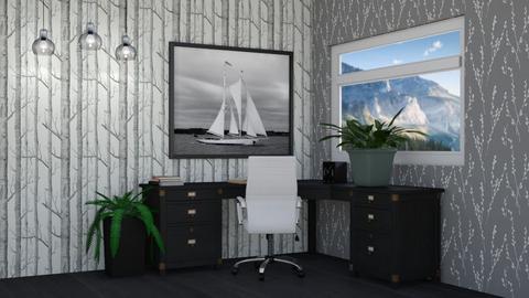 Sailboat Office - by LaylaaaarrrJF