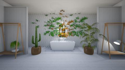 Botanical Bathroom - Bathroom  - by evabarrett