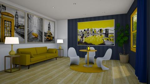 Goin - Eclectic - Living room  - by Elenny