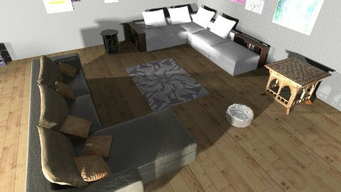 YAZ LIVING ROOM - Glamour - Living room  - by Yaz the builder12