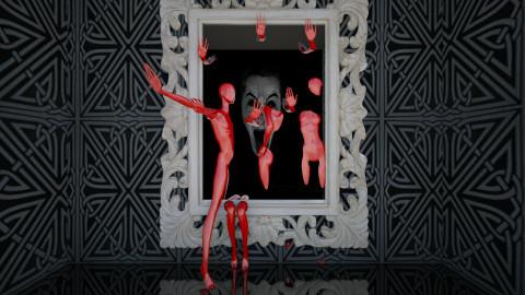 horror mirror - by Dibiduu