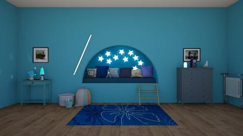 The Blues - Modern - Kids room  - by matildabeast