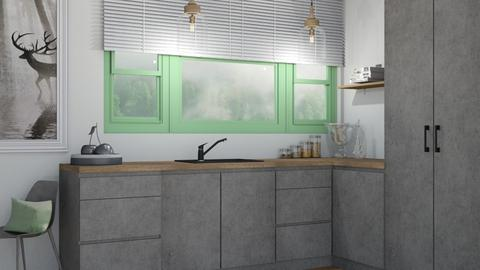 Concrete - Kitchen  - by DarioGP