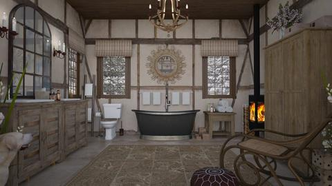 Design 491 Touch of Tudor Bath - Bathroom  - by Daisy320