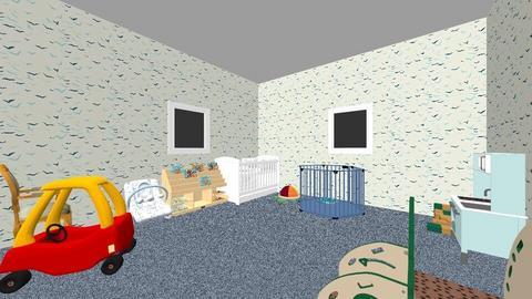 F Yu - Kids room - by lilg129class
