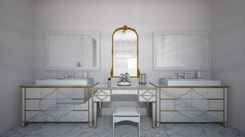 Glam Bathroom - Glamour - Bathroom - by elizabethwatt16