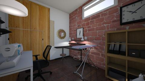 sewing room - Minimal - Office  - by Heatherem