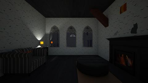 Halloween Themed Living R - Living room  - by splohmar