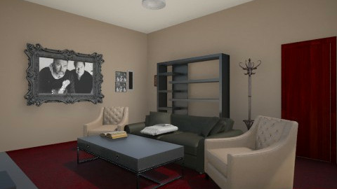 Living Room - Living room - by lurkingcat