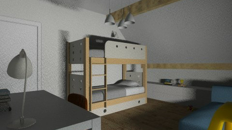 Kid view 2 - Modern - Kids room - by horo