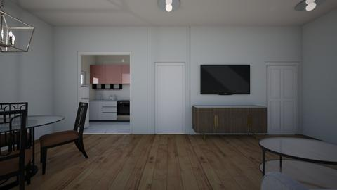 iii - Living room  - by Architectdreams