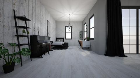 Black White  - Modern - Bedroom  - by Marlisa Jansen