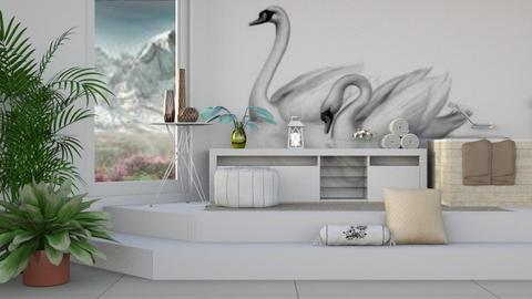 Swans - Modern - Bathroom  - by millerfam