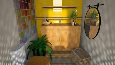 Art - Modern - Bathroom  - by CitrusSunrise